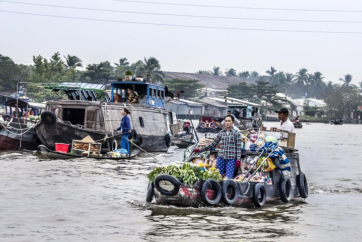 Cai Rang Floating Market Private Day Tour from Ho Chi Minh city